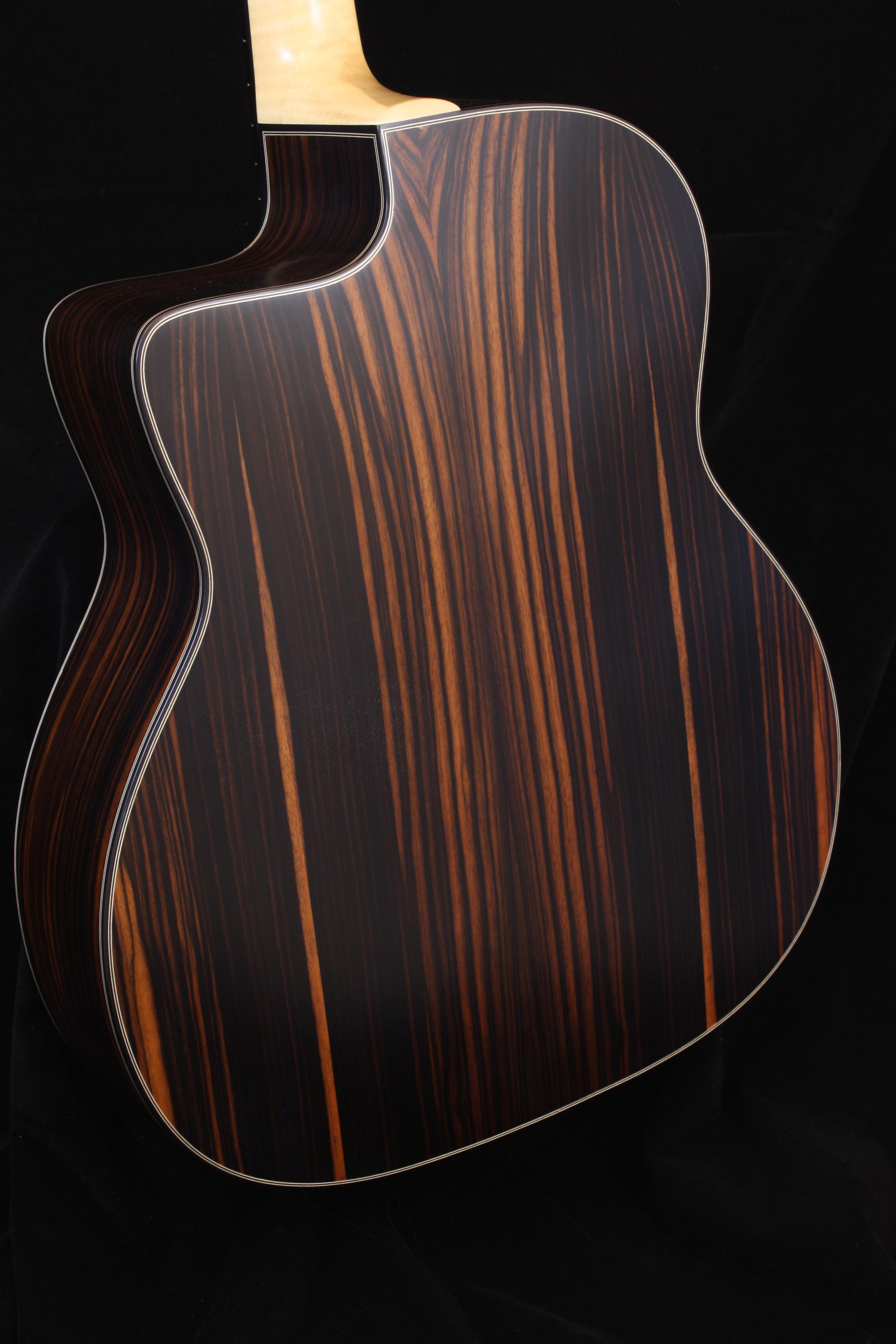 Guitare ALD Brune Dos