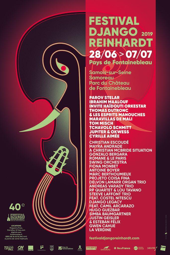 programme Festival Django Reinhart 2019